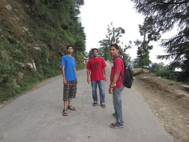 way to bhagsu