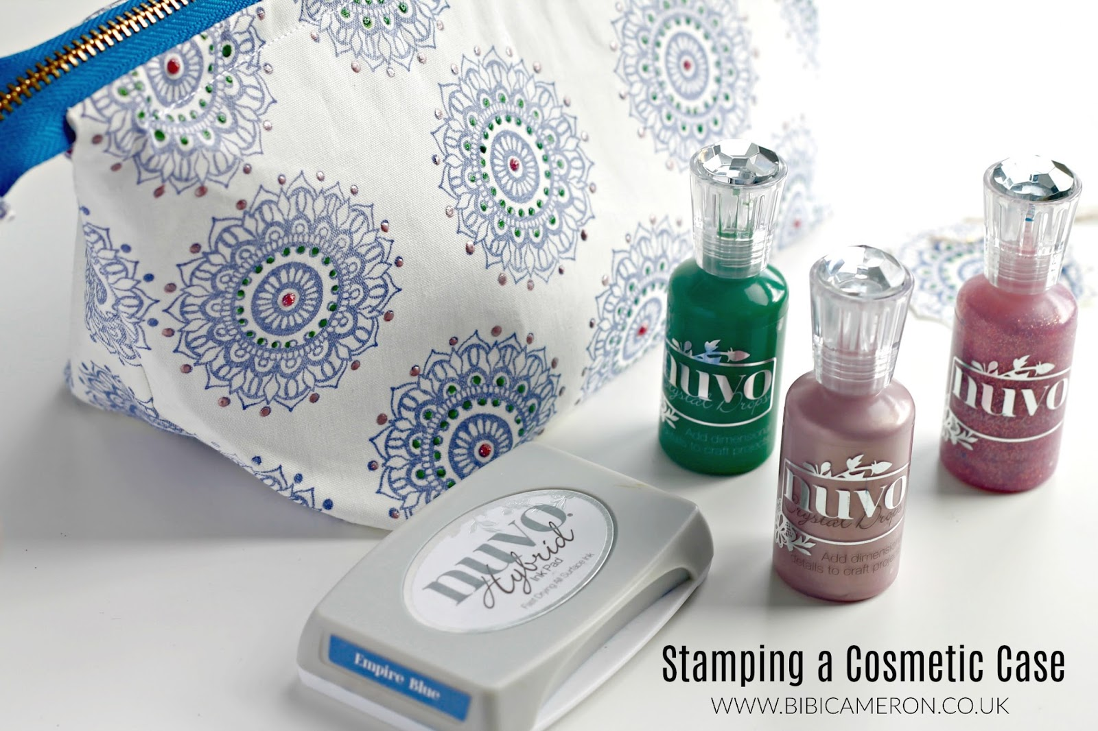 All You Have To Do Is Stamp The Fabric As Would On Paper And Heat Set With A Hot