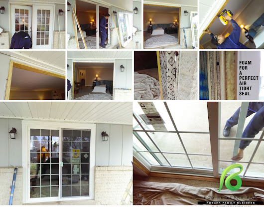 Installing Sliding Patio Door : Lehigh Valley