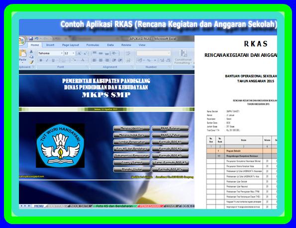 Aplikasi RKAS BOS Terbaru 2017