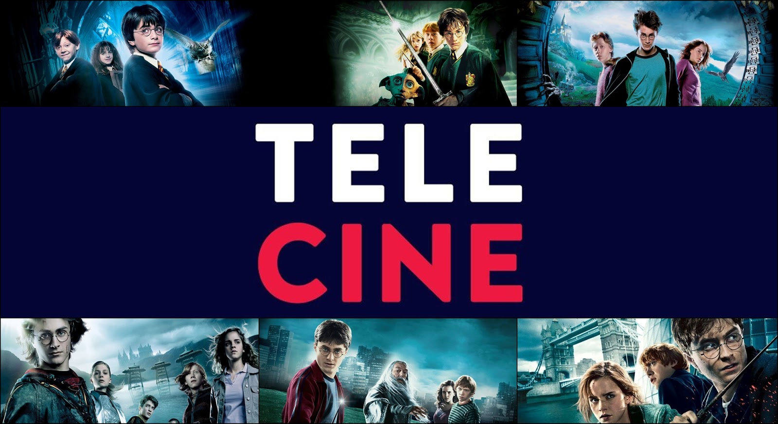 Saga Harry Potter chega ao streaming do Telecine