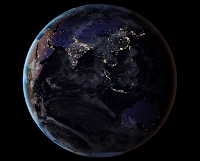 Earth at Night: Asia and Australia