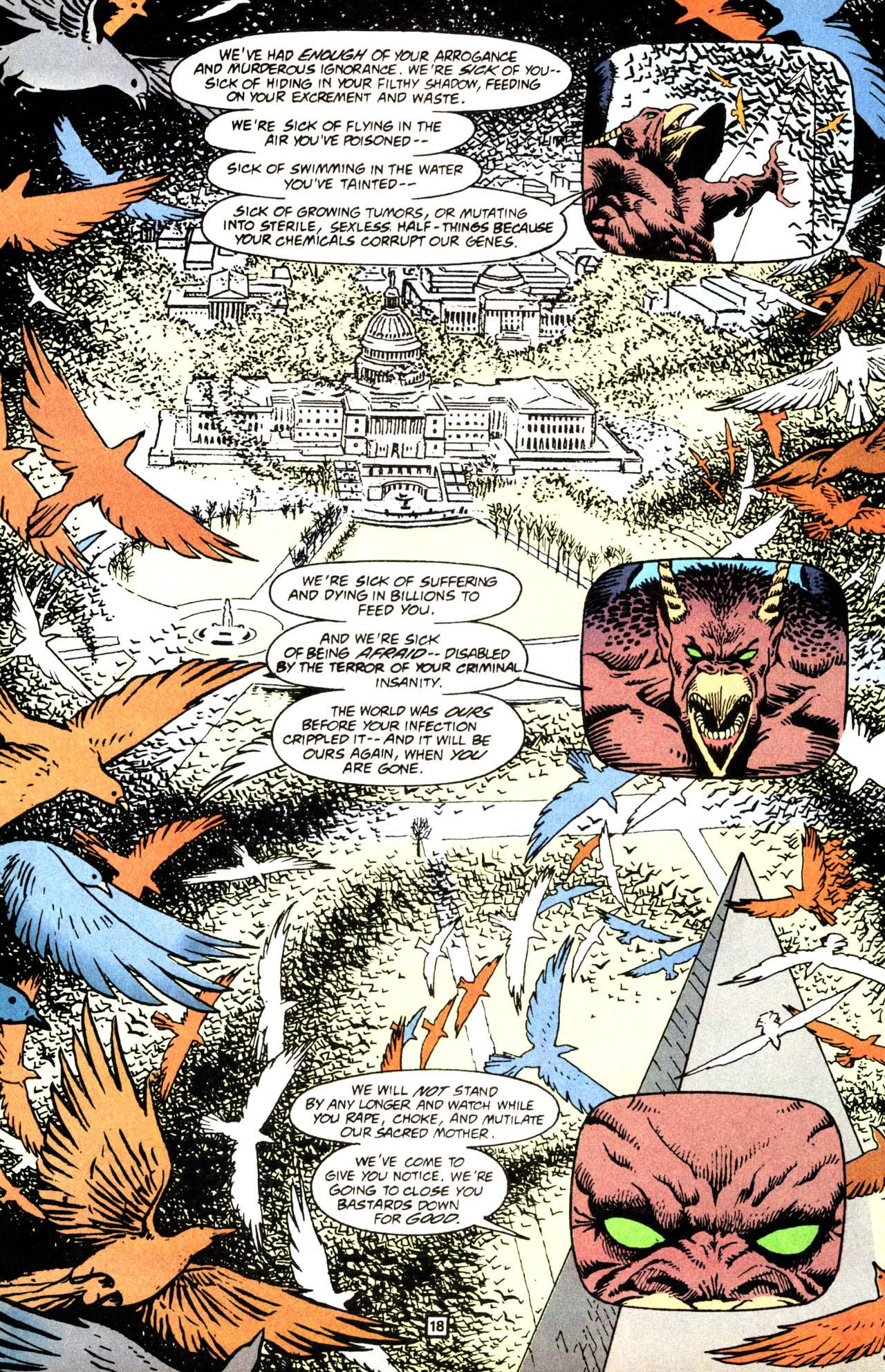 Read online Animal Man (1988) comic -  Issue #71 - 19
