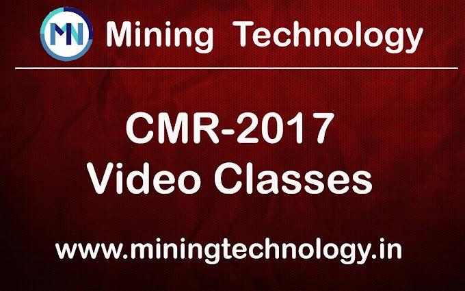 Coal Mines Regulation-2017  Video Classes