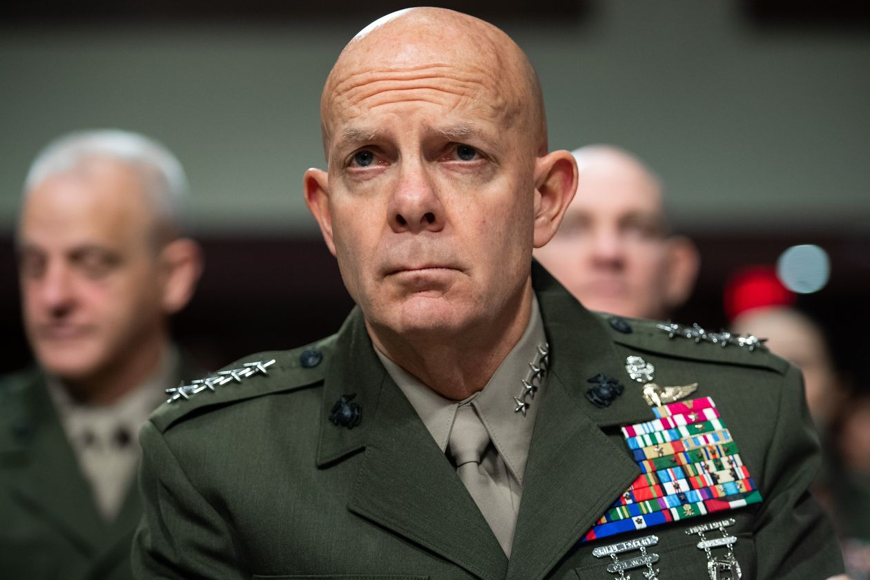 генерал-комендант КМП США Девід Бергер