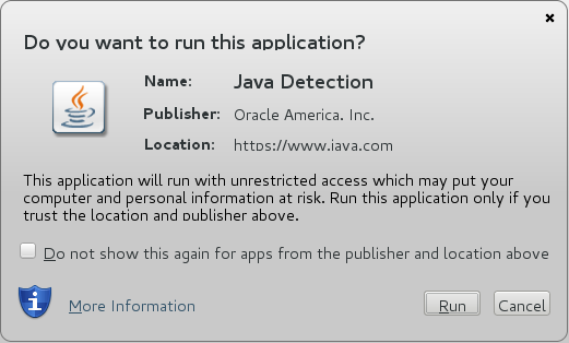 Enable Java run time plugin in Firefox - We Are Linux