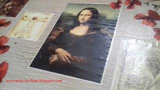 Da Vinci i …. stolik śniadaniowy