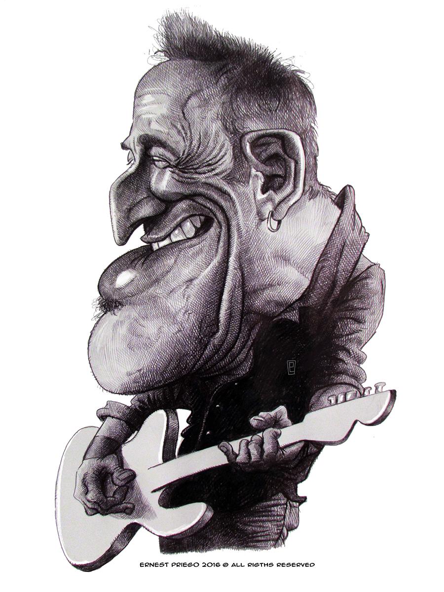 Bruce Springsteen por Ernesto Priego
