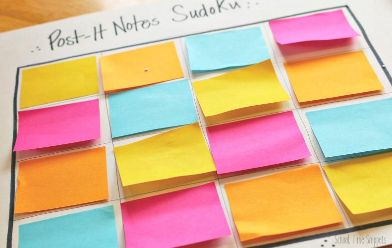 Color Sudoku Puzzle for Kids