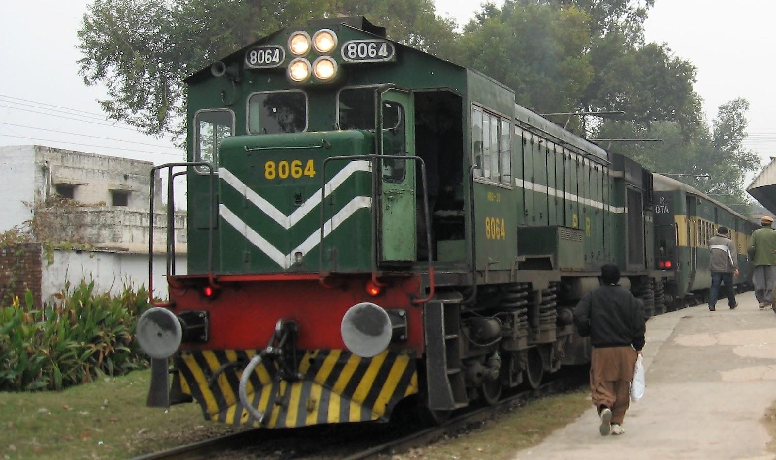 Railways Minister Launches High-Speed 'Rahman Baba Express' Train