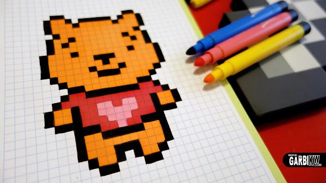 Pixel Art Kawaii Licorne