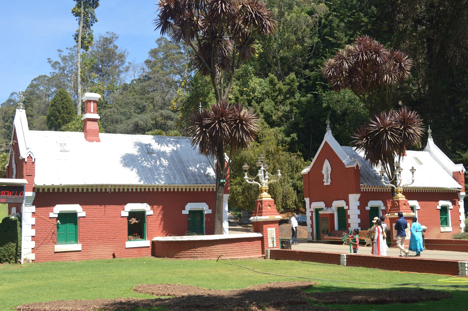 botanical garden, ooty, british architecture,shiv sangal