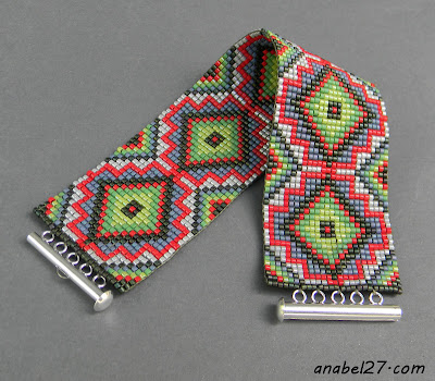 этнические браслеты из бисера украина россия купить