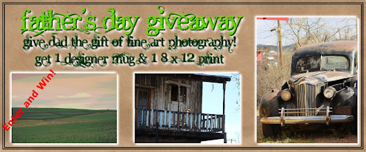 Father's Day Giveaway Sweepstakes-Coffee Mug & Fine Art Print!