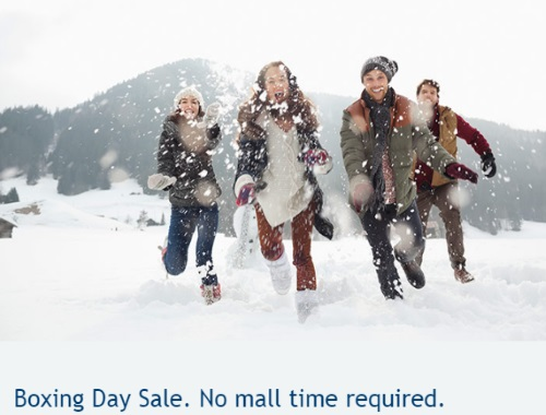 WestJet Boxing Day Sale