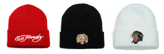 Beanies by Ed Hardy