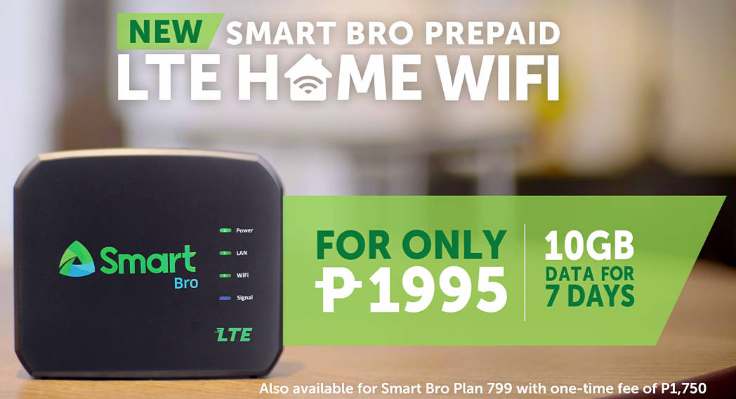 smart bro lte home wifi device price is php 1 995 no installation no hassles techpinas. Black Bedroom Furniture Sets. Home Design Ideas