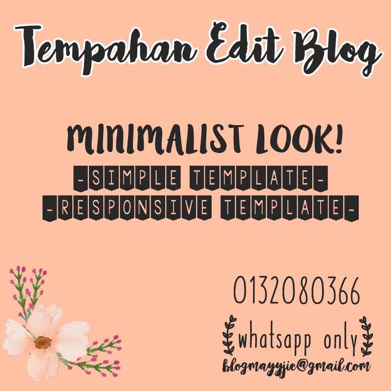 Tempahan Edit Blog