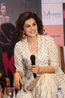 Actress Taapsee Pannu Pictures at Pink Press Meet 0045