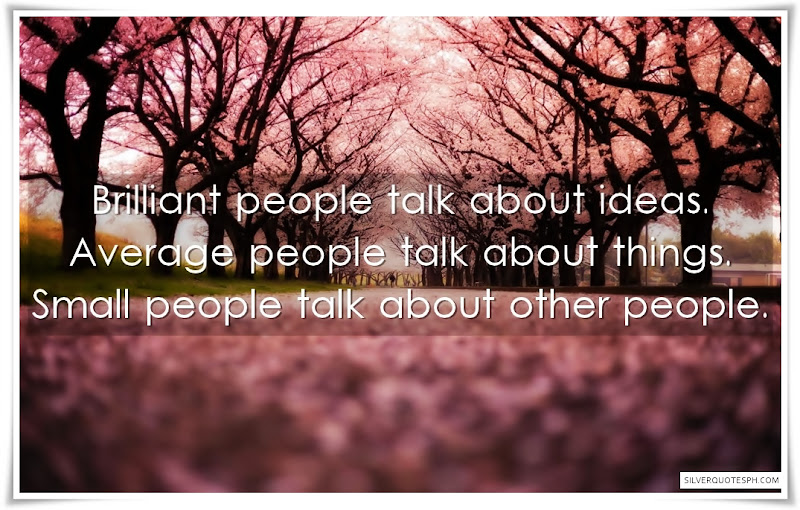Brilliant People Talk About Ideas
