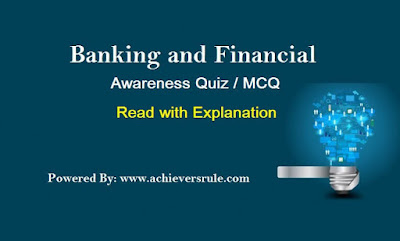 Banking and Financial Awareness Quiz For IBPS PO