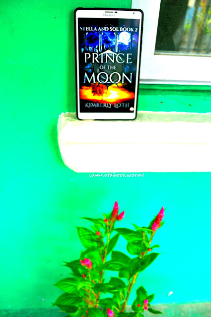 Prince of the Moon ( Stella and Sol #2) by Kimberly Loth | An ARC | A Book Review by iamnotabookworm!