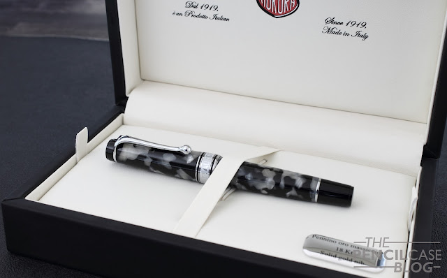 Aurora Optima Monviso 360 fountain pen review