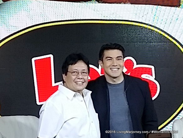 Luis Manzano for Shakey's