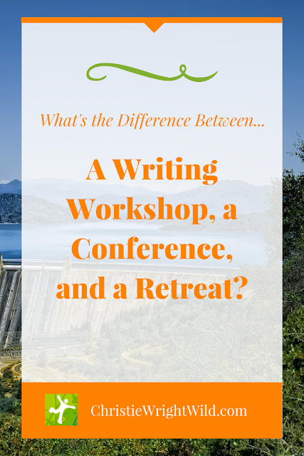 What's the difference between a writing conference and a writing retreat? || resources for writers | learn how to write | writing communities