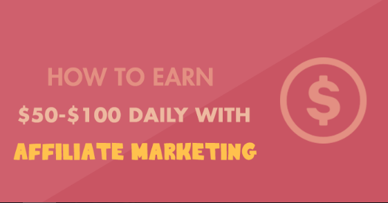 How To Make $ 50 - $ 100 Daily With Affiliate Marketing? It would not be good to earn $ 50- $ 100 per day with affiliate marketing. This is a very recent post that will show you the foolproof plan that works 100% to make money with affiliate marketing. The best thing is that you can start in a few minutes and only need $ 20- $ 30 to start and then daily benefit of $ 50- $ 100.