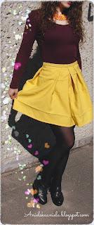 Diy tutorial /  How to sew a pleated skirt / Turn Pants Into A Pleated Skirt / Jak uszyć spódniczkę z zakładkami? / krok po kroku