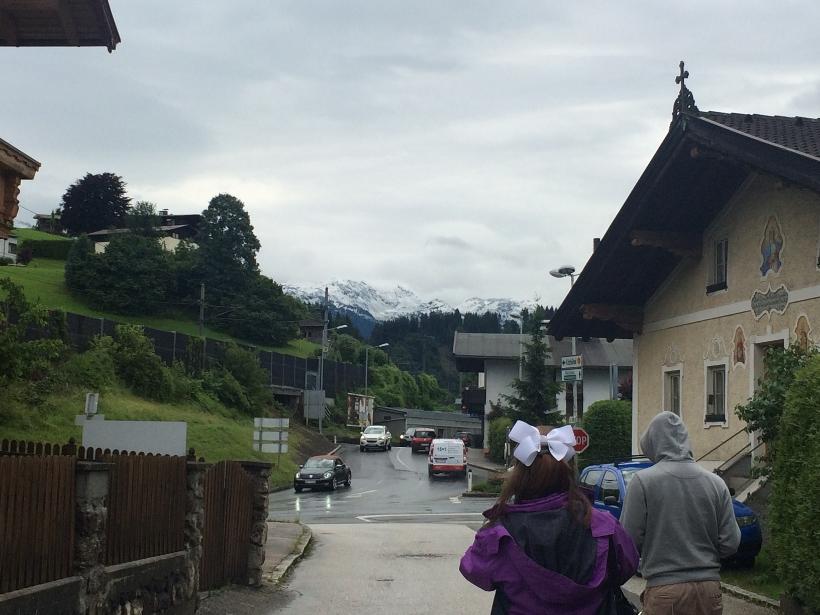 Hopfgarten mountain view