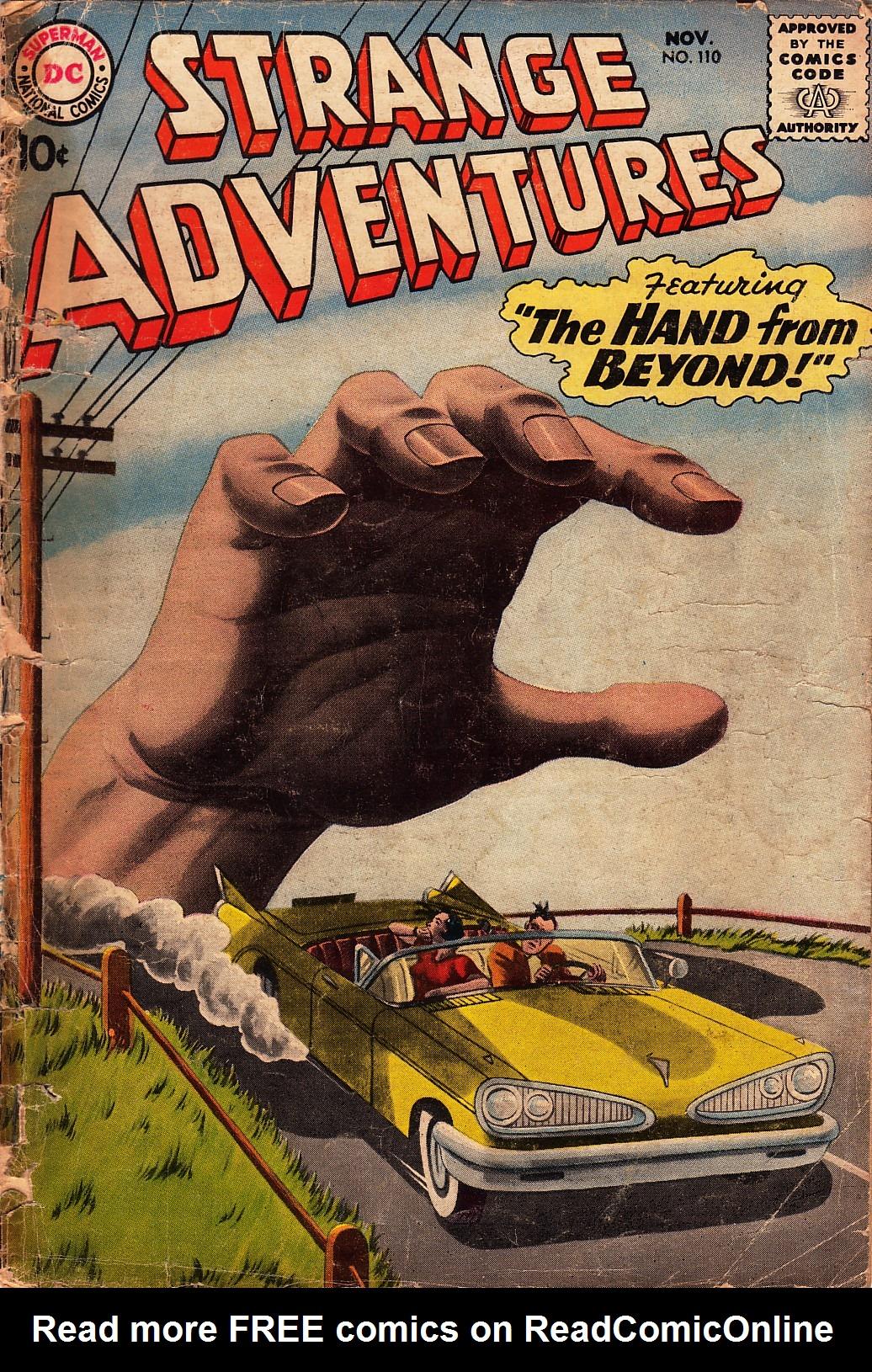 Strange Adventures (1950) issue 110 - Page 1