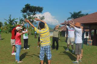Pelatihan Outbound di puncak Bogor