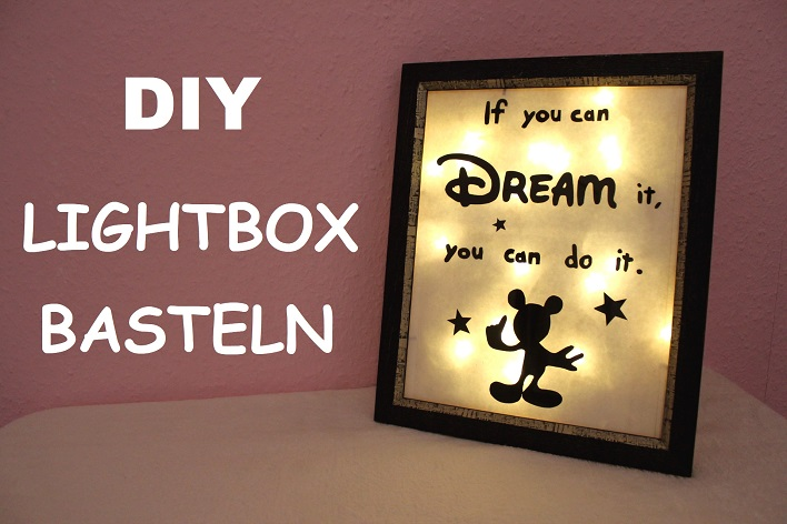 Fräulein Cinderella Diy Lightbox Basteln