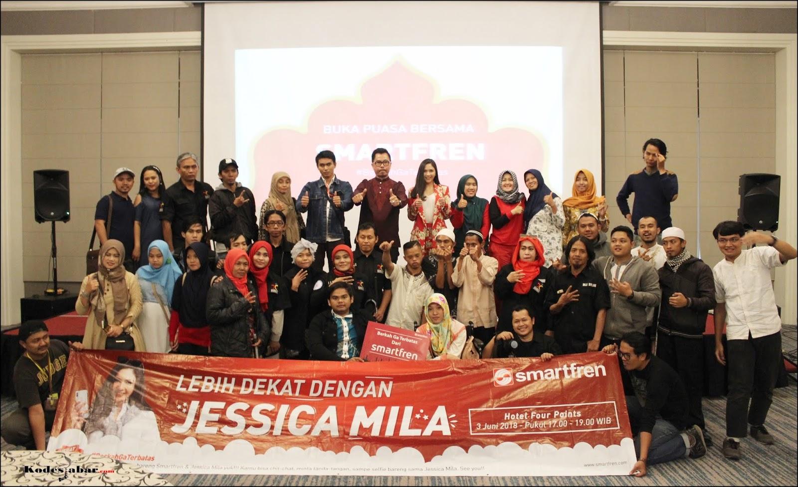 Smartfren Perkenalkan Paket Super 4G Unlimited Rp 60 Ribu Sebulan di Bandung
