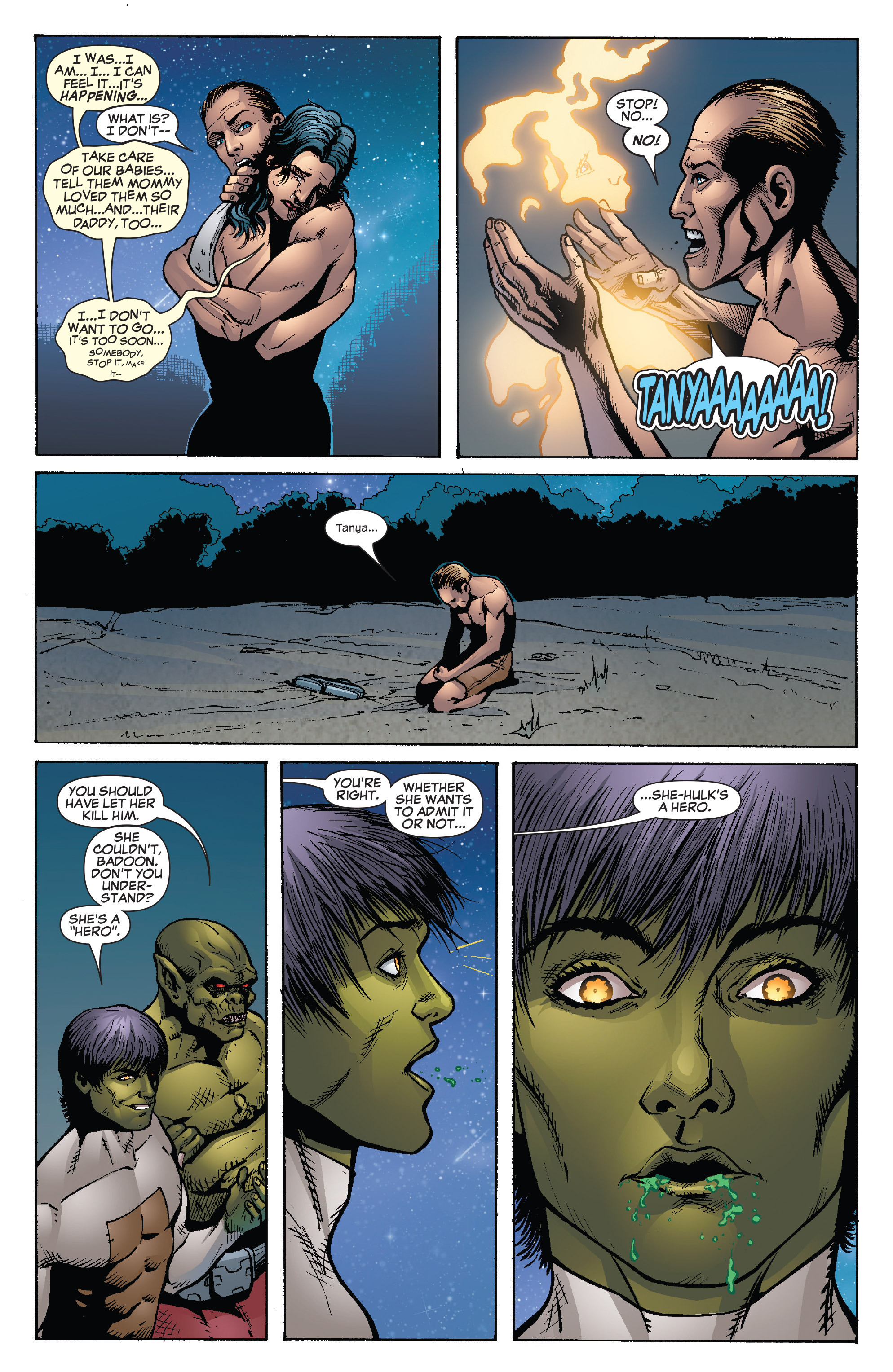 Read online She-Hulk (2005) comic -  Issue #26 - 23
