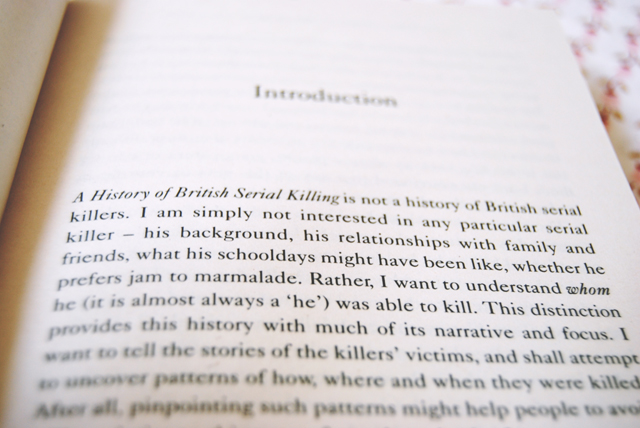 Extract of A History of British Serial Killing