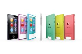 Warna-warni New iPod nano dengan Tombol Home