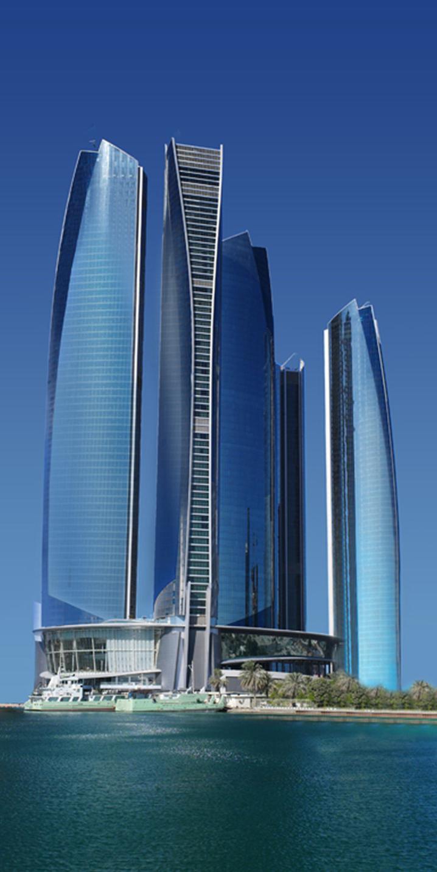 Architecture Corner Jumeirah At Etihad Towers Abu Dhabi