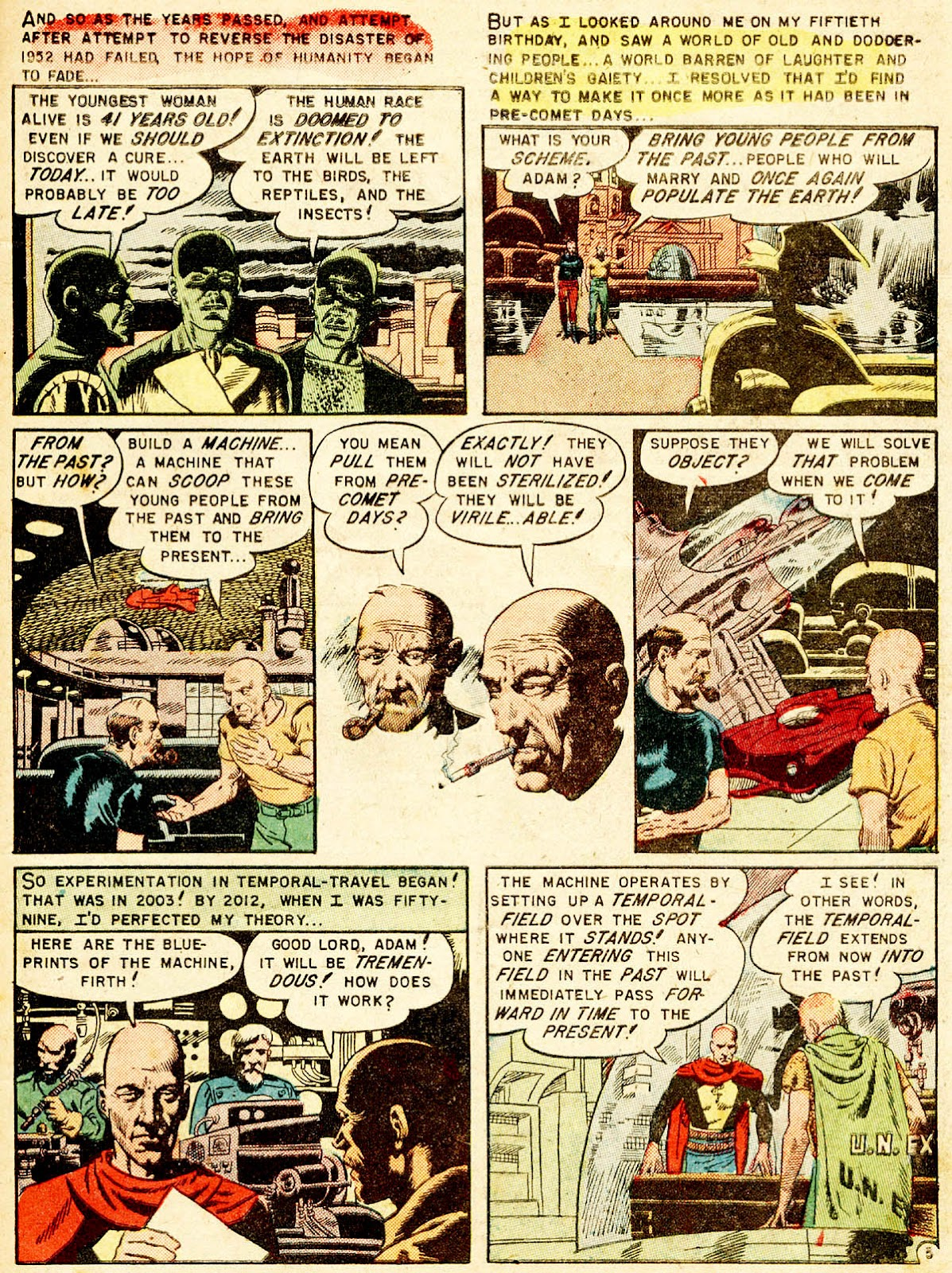 Weird Fantasy (1951) issue 13 - Page 7
