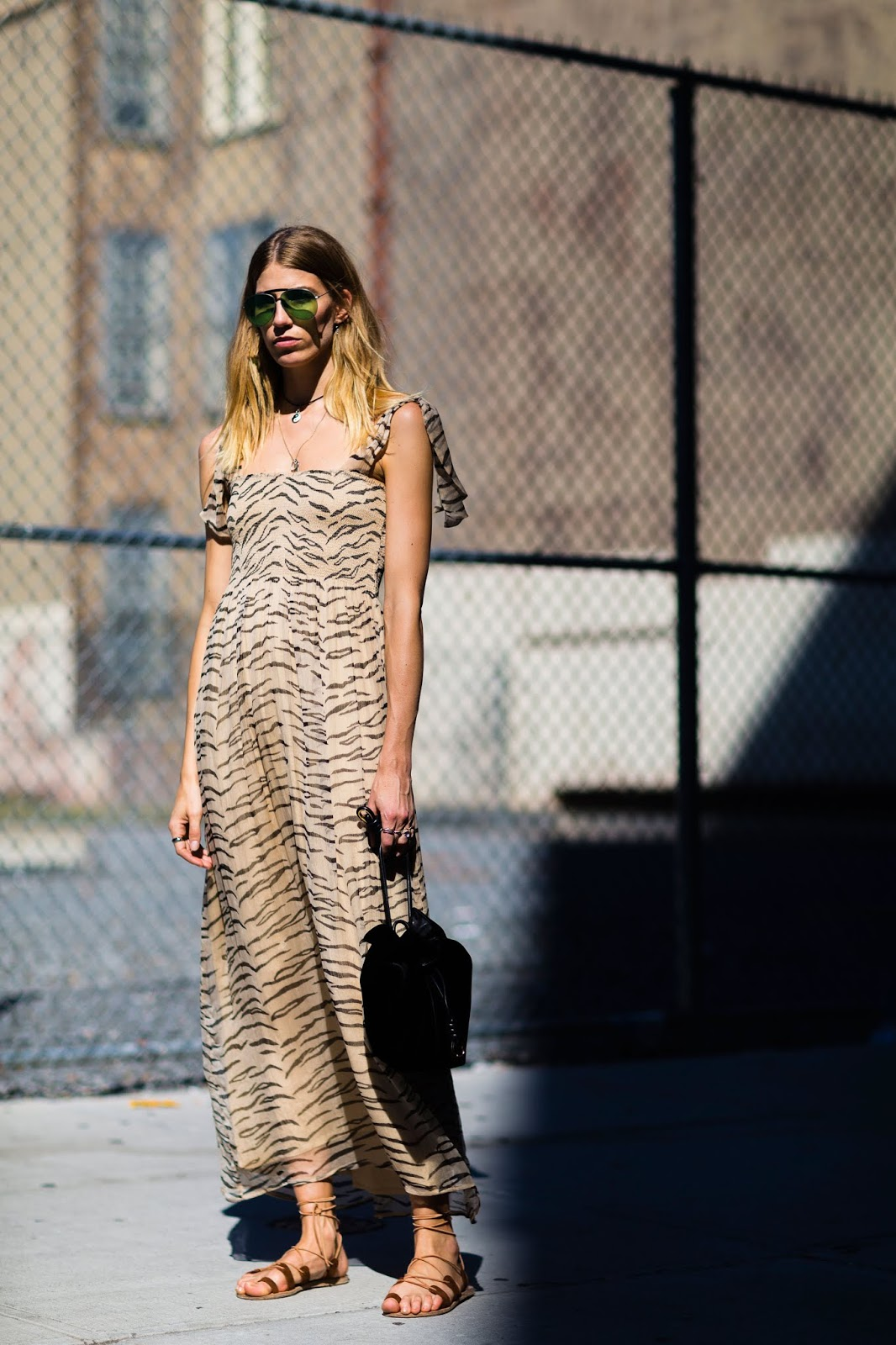 How to Wear Animal Print for Summer — Veronika Helbrunner Street Style Outfit Inspiration