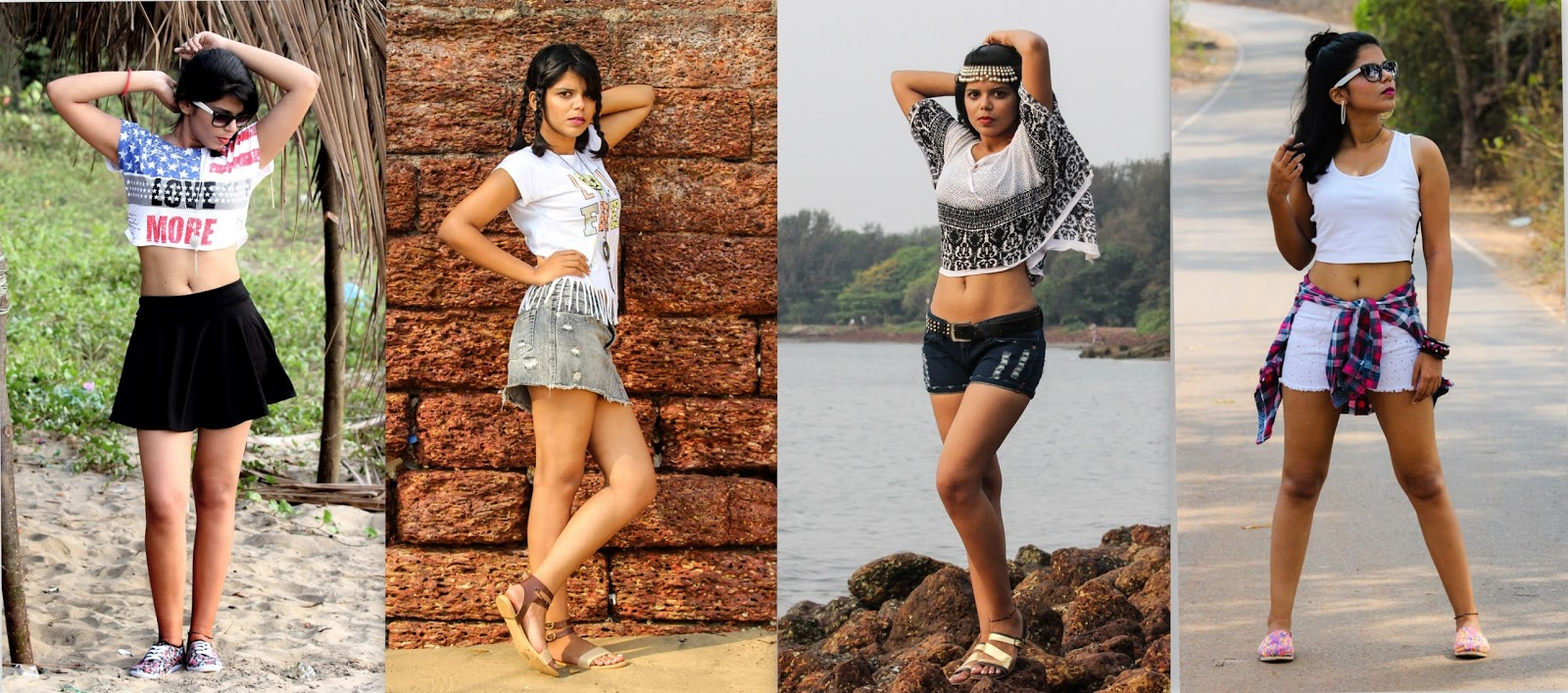Whatu0026#39;s Up Flexcia Dressing up for the perfect summer days in Goa || Summer Lookbook by Flexcia