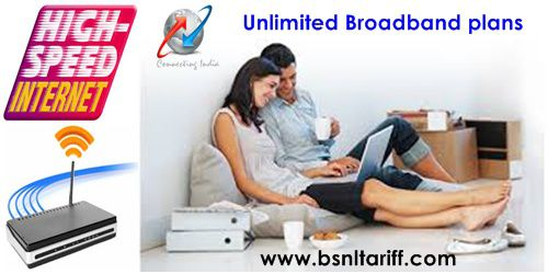 BSNL DSL Broadband Unlimited plan 499 revised to BSNL Unlimited Broadband plan 549