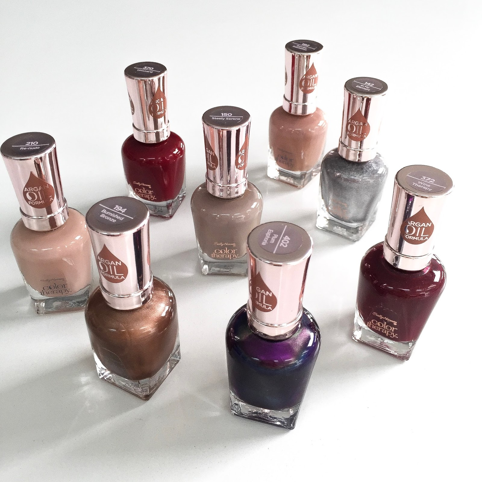 SALLY HANSEN LAUNCHES NEW COLOUR THERAPY WITH ARGAN OIL NAIL POLISH ...