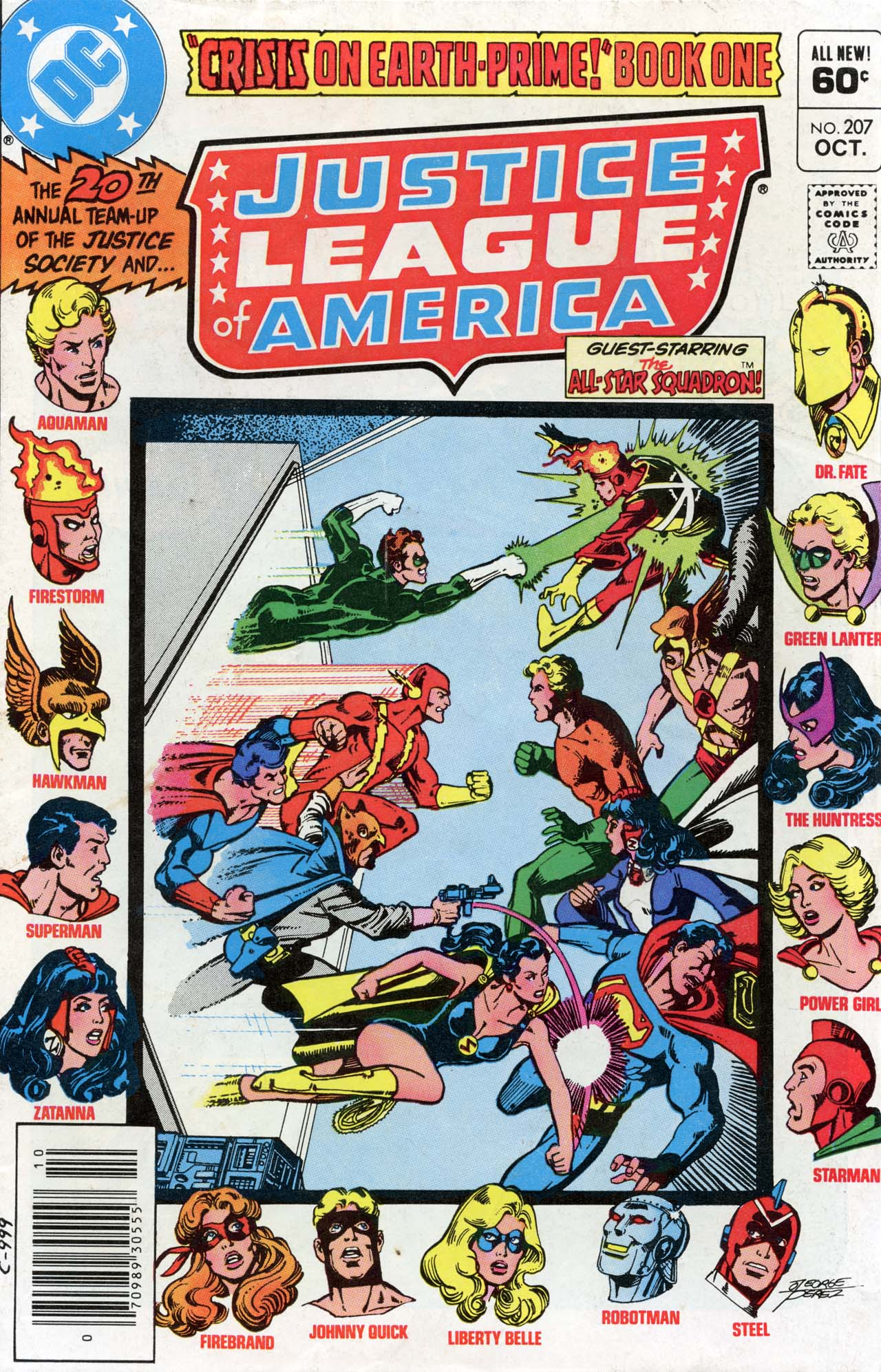 Justice League of America (1960) 207 Page 1
