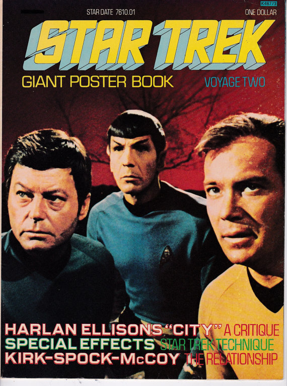 Star Trek Giant Poster Book (AKA Star Trek Monthly)