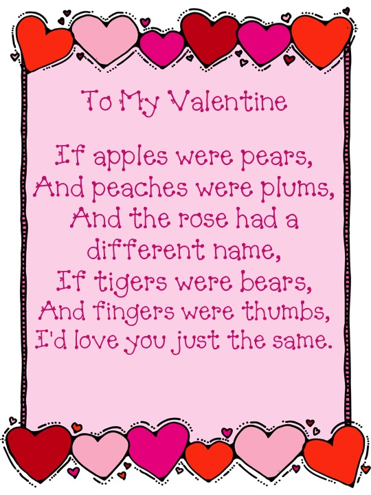 February Poem - Classroom Freebies