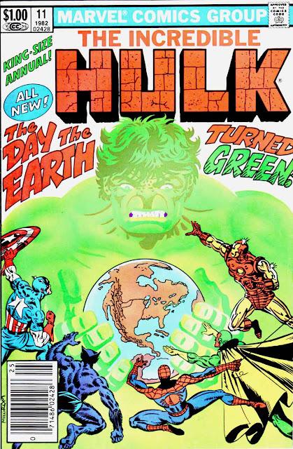 Incredible Hulk v2 annual #11 marvel comic book cover