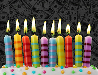 Birthday Party Money